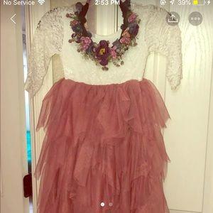 Boutique girl dress